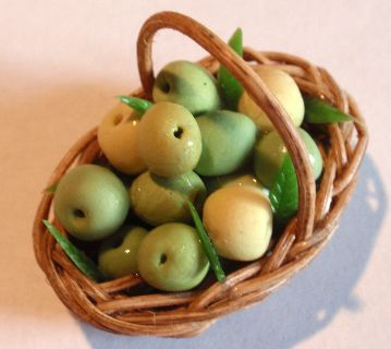 Basket Cox Apples