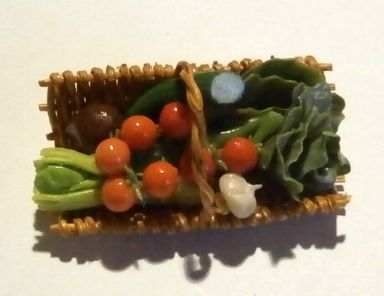 Basket of Salad Items
