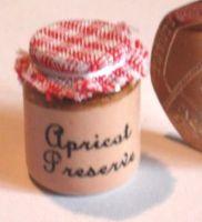 Stoneware Storage Jar - Apricot Preserve