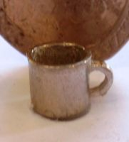1:24th Scale Pair of Pewter Mugs