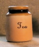 Stoneware Storage Jar - Tea
