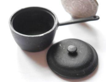 Small Black Pan