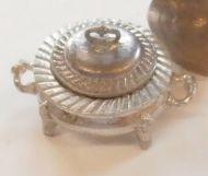 Round Silver Tureen