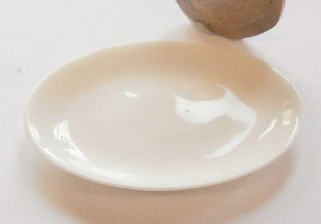 Plain White China Platter