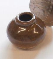 Half Glazed Storage Bowl