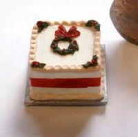 Christmas Cake - Square