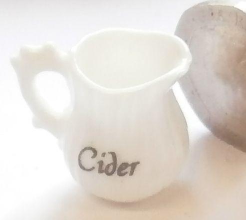 White China Cider Jug