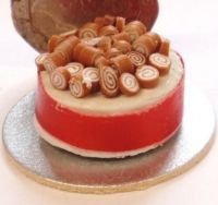 Toffee Whirl Cake