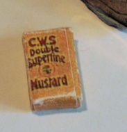 CWS Mustard Packet