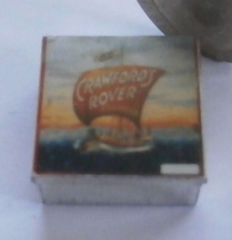 Tin of Crawfords Rover Biscuits