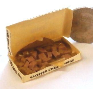 Box of Clotted Cream Fudge