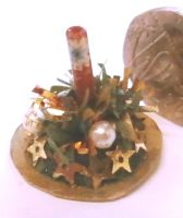 Christmas Candle Table Decoration