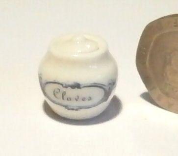 Cloves Storage Jar