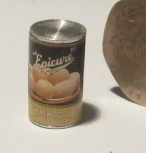 Tin of Potatoes