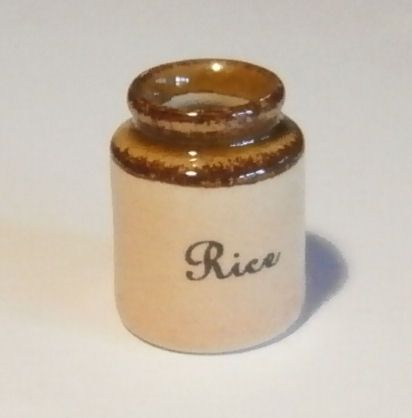 Stoneware Storage Jar - Rice